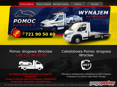 Laweta Wrocław - Pomoc Drogowa
