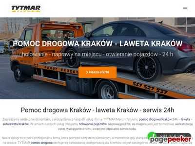 Pomoc Drogowa Kraków Centrum