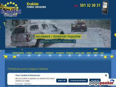 01 Euro Hol - holowanie Kraków