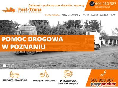 Pomocdrogowa.w.poznaniu.pl - pomoc drogowa, holowanie na lawecie