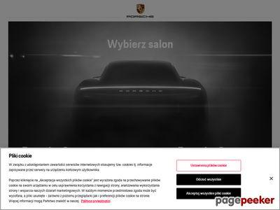 Porschewarszawa.com.pl salon Porsche