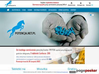 Tabletki na potencję bez recepty - Viagra, Kamagra, Cialis bez recepty