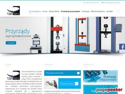 Http://powertechsc.pl stanowiska pomiarowe