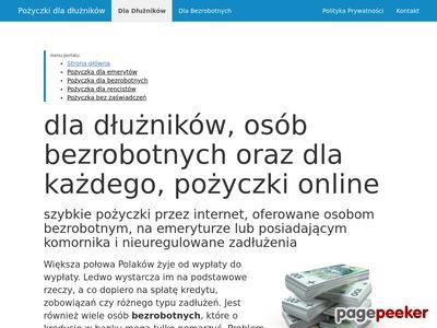 Pożyczki dla bezrobotnych online