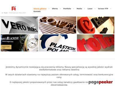 A-Plus Pracownia Reklamy Toruń