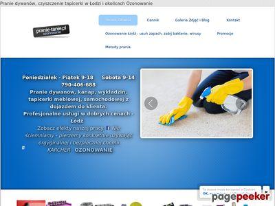 Pranie, czyszczenie i Ozonowanie Łódź