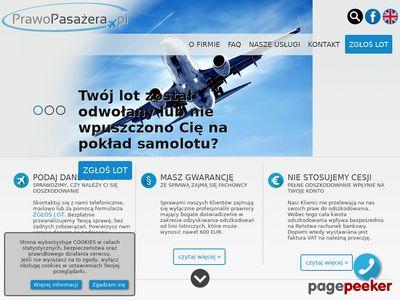 Reklamacja u przewożnika lotniczego-Prawopasazera.pl