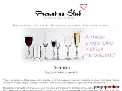 Prezenty ślubne pomysły - prezentnaslub.com.pl