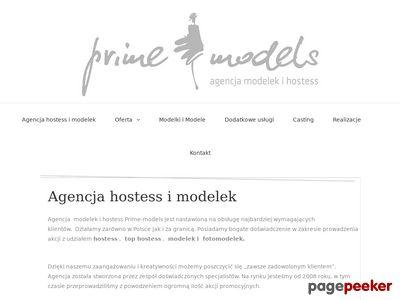 PRIME-modelki, hostessy Warszawa, Poznań