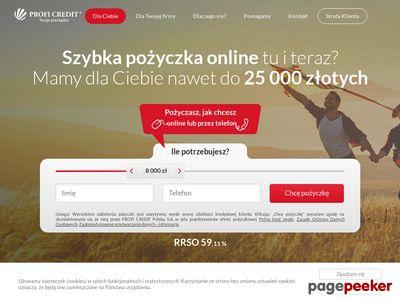 Pożyczki online ProfiCredit
