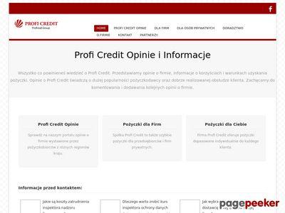 Opinie o Profi Credit