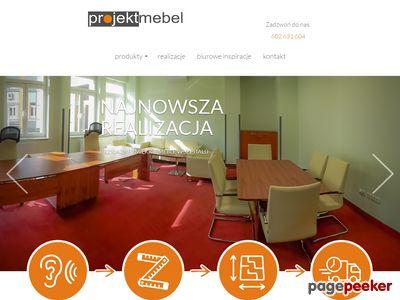 Meble biurowe Gliwice - sprawdź ProjektMebel