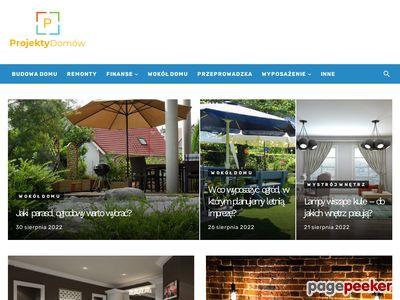 Sprzedaż gotowych projektów domów