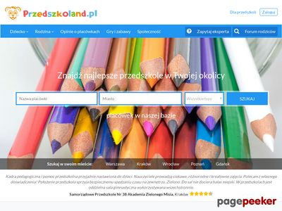 Przedszkoland.pl - dobre przedszkola i żłobki