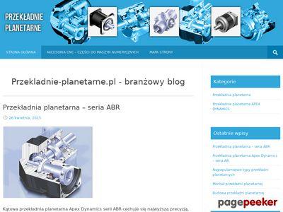 Blog o przekładniach planetarnych