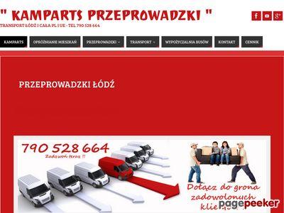 Usługi przeprowadzkowe Łódź