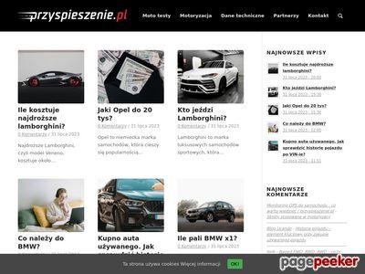 Blog Motoryzacyjny - Przyspieszenie.pl