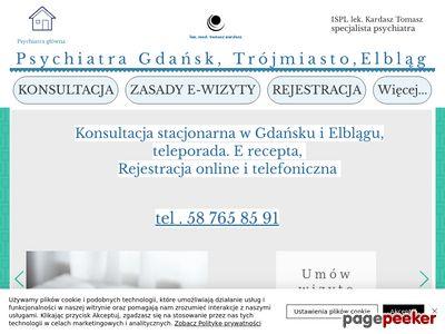 Psychiatra Tomasz Kardasz Elbląg