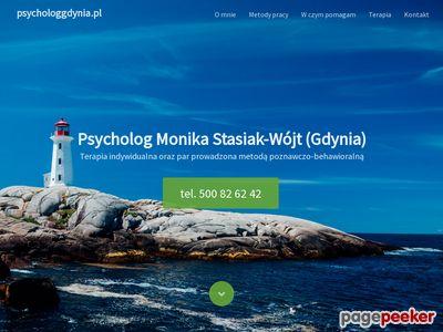 Psycholog Gdynia — Monika Stasiak-Wójt