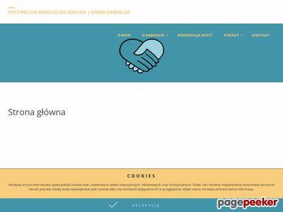 Psycholog Anna Zawiślak