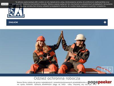 Wysokiej klasy odzież ochronna robocza - rakon.com.pl