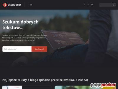 Recenzator.pl testy i recenzje nowoczesnych technologii