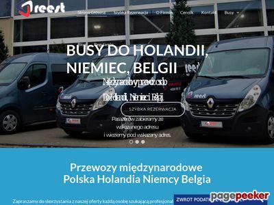 Busy holandia polska