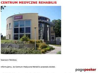 Chirurg naczyniowy Warszawa, Rehabilis