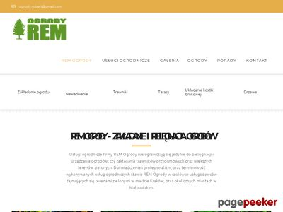 Usługi pielęgnacji ogrodów REM