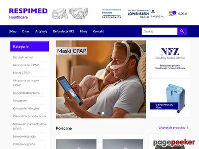 Leczenie CPAP Respimed