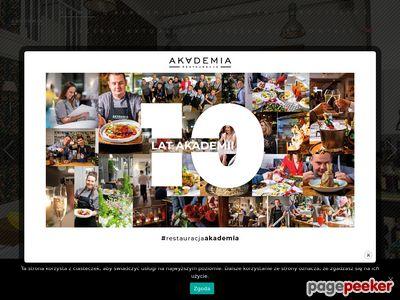 Najlepsza restauracja w Warszawie - Restauracja Akademia