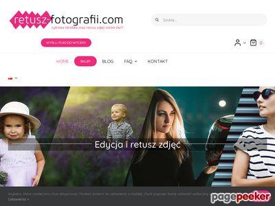 Retusz zdjęć - cyfrowa obróbka zdjęć