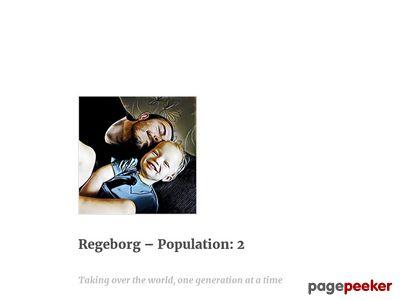 Skärmdump av rex.regeborg.se