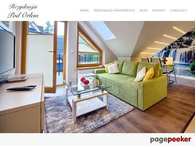 Ekskluzywne apartamenty w Zakopanem na rezydencjapodorlem.com