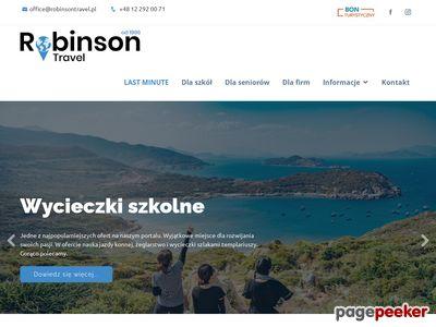 Biuro usług turystycznych Robinson