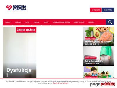 Rodzina zdrowia - portal internetowy o zdrowiu