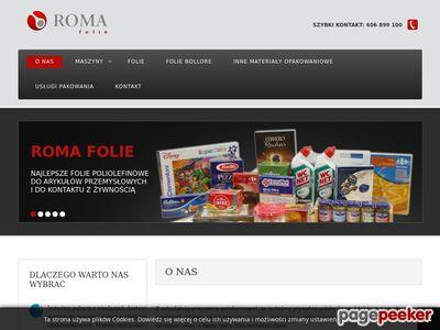 Urządzenia pakujące - Roma Folie