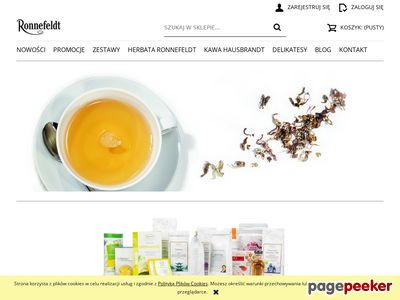 Ronnefeldt-sklep.pl - herbata zielona