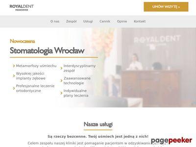 Royal Dent Wrocław klinika stomatologiczna wrocław
