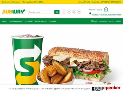 Subway dostawa