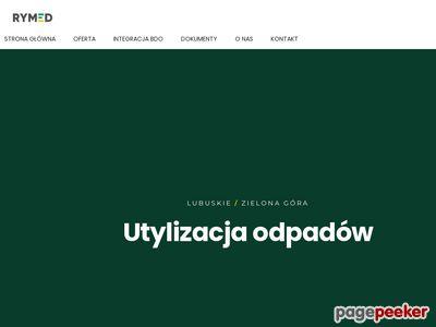 RYMED Przedsiębiorstwo Obrotu Odpadami - Profesjonalny odbiór odpadów