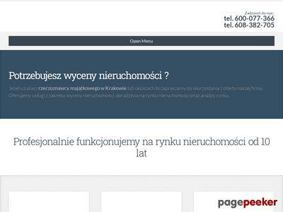 Wycena domu, mieszkania, działki - Kraków
