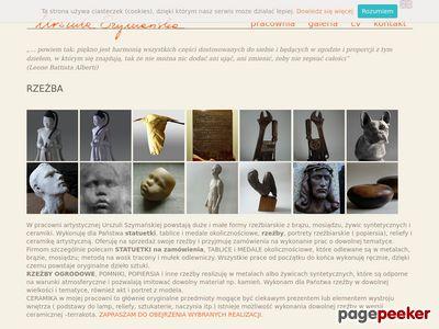 Urszula Szymańska – rzeźba, ceramika artystyczna