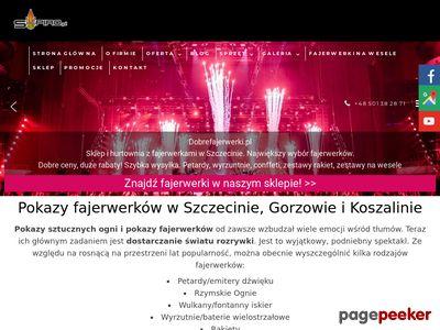 S-piro.pl pokazy konfetti na wesele