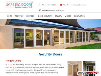 Read more about: http://safetecdoors.com/security-doors.html