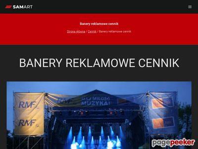 Banery reklamowe Kraków - druk wielkoformatowy