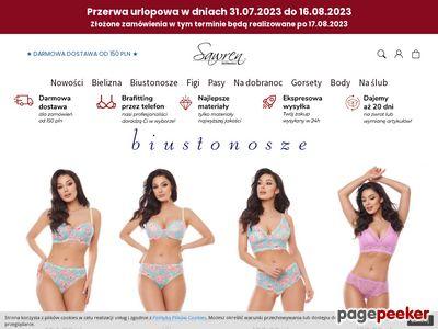 Sklep internetowy z bielizną - sawren.pl