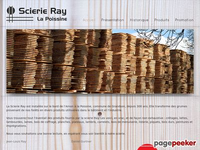 >Scierie Ray SA (La Poissine) - A visiter!