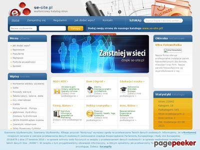 Spis stron Se-site.pl