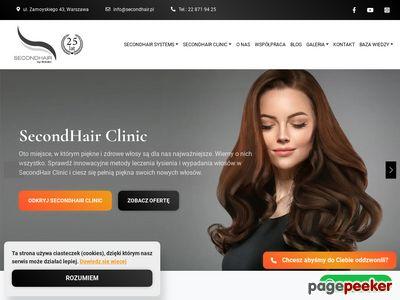 SecondHair Clinic - Klinika Włosów